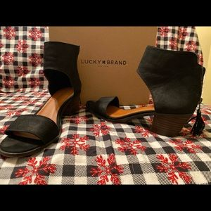 Lucky brand heeled Sandle